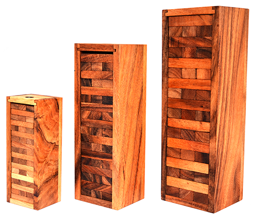 jenga game samanea wooden