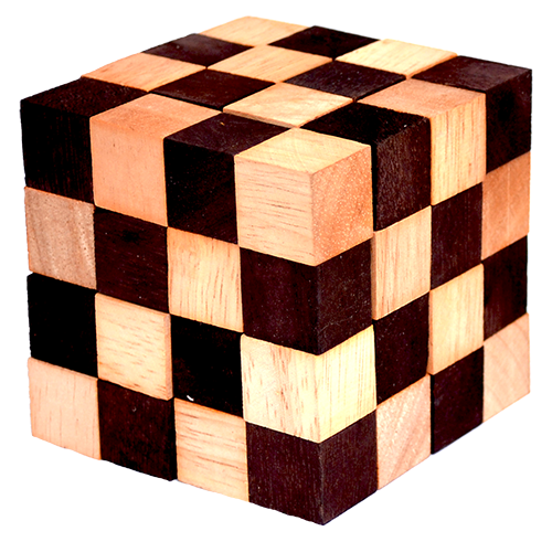 cobra cube snake cube thai wooden games puzzle chiang mai