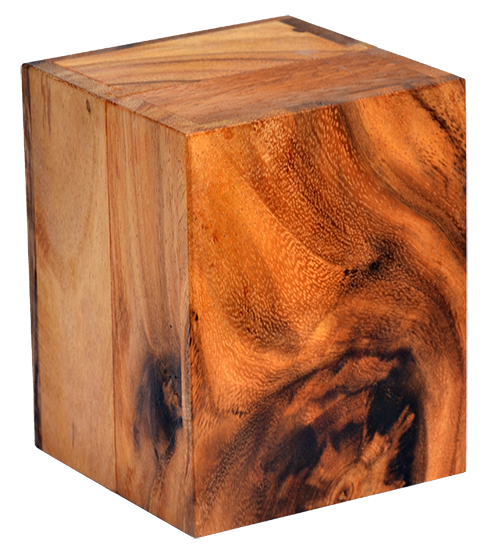 samanea wooden box end product from monkey pod wood