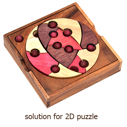 Solution for 2D Puzzles from samanea wood